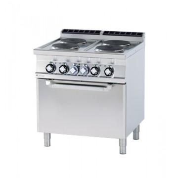 CFV4 - 98 ET Kuchnia elektryczna zpiekarnikiem