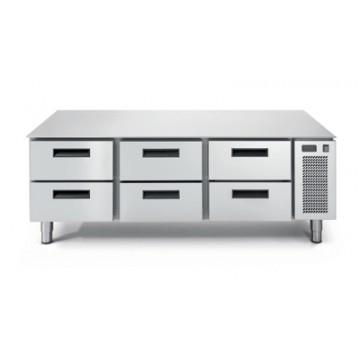 LS 703 TN/V 2C Podstawa chłodnicza 6-szufladowa